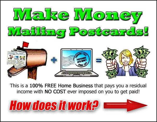 Make money mailing postcards with free - How to earn money in home design ...