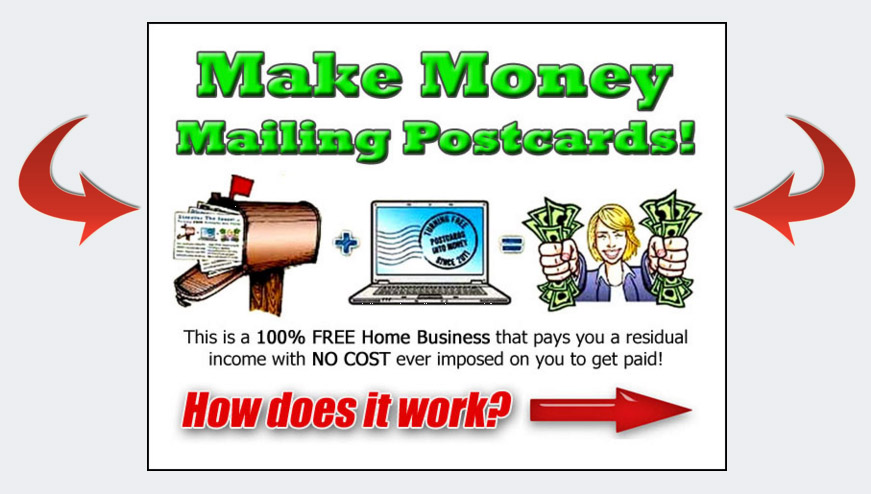 Make Money Mailing Postcards